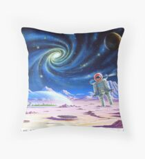 Two moons and a billion stars. Throw Pillow
