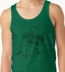 Live to Smash, Smash to Live Tank Top