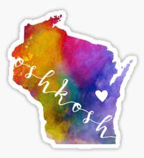 Oshkosh Sticker