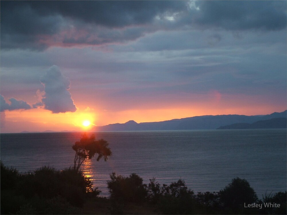 Sunset 1 by Lesley White