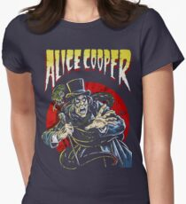 SPEND THE NIGHT WITH ALICE COOPER Tour 2017 GOO4 Womens Fitted T-Shirt