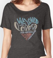 More than Love Women's Relaxed Fit T-Shirt