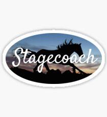 Stagecoach Festival Horse Sticker