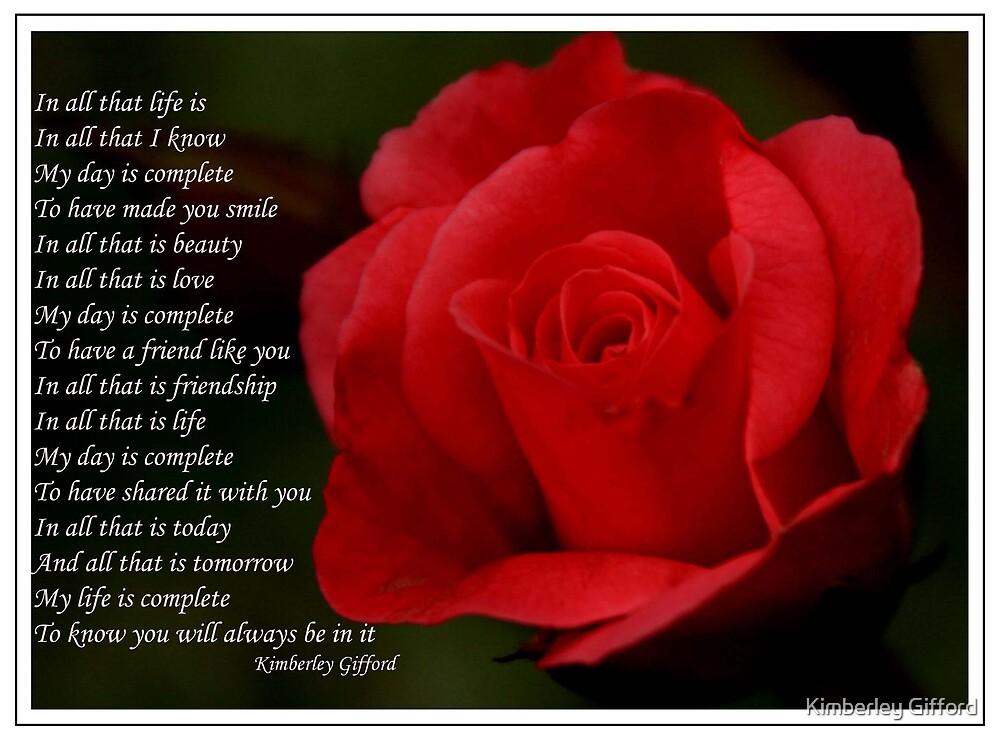 Friendship by Kimberley Gifford
