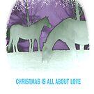 Equine spirit Christmas by blue7seahorse