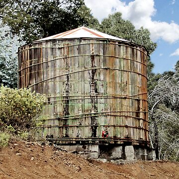 Rustic Water Tank by Lanaki