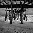 Under the Ocean Grove Boardwalk  by Debra Fedchin