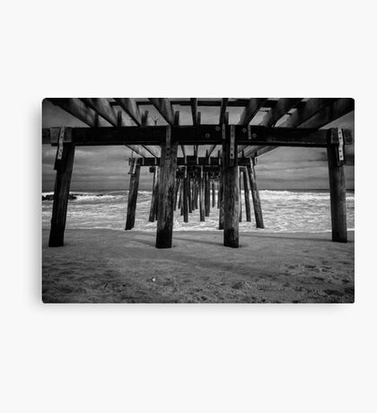 Under the Ocean Grove Boardwalk  Canvas Print