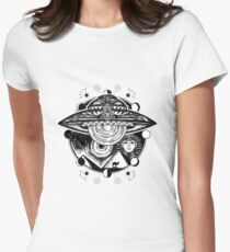 UFO Women's Fitted T-Shirt