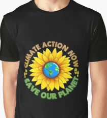 People's Climate Change March on Washington Justice 2017 Graphic T-Shirt