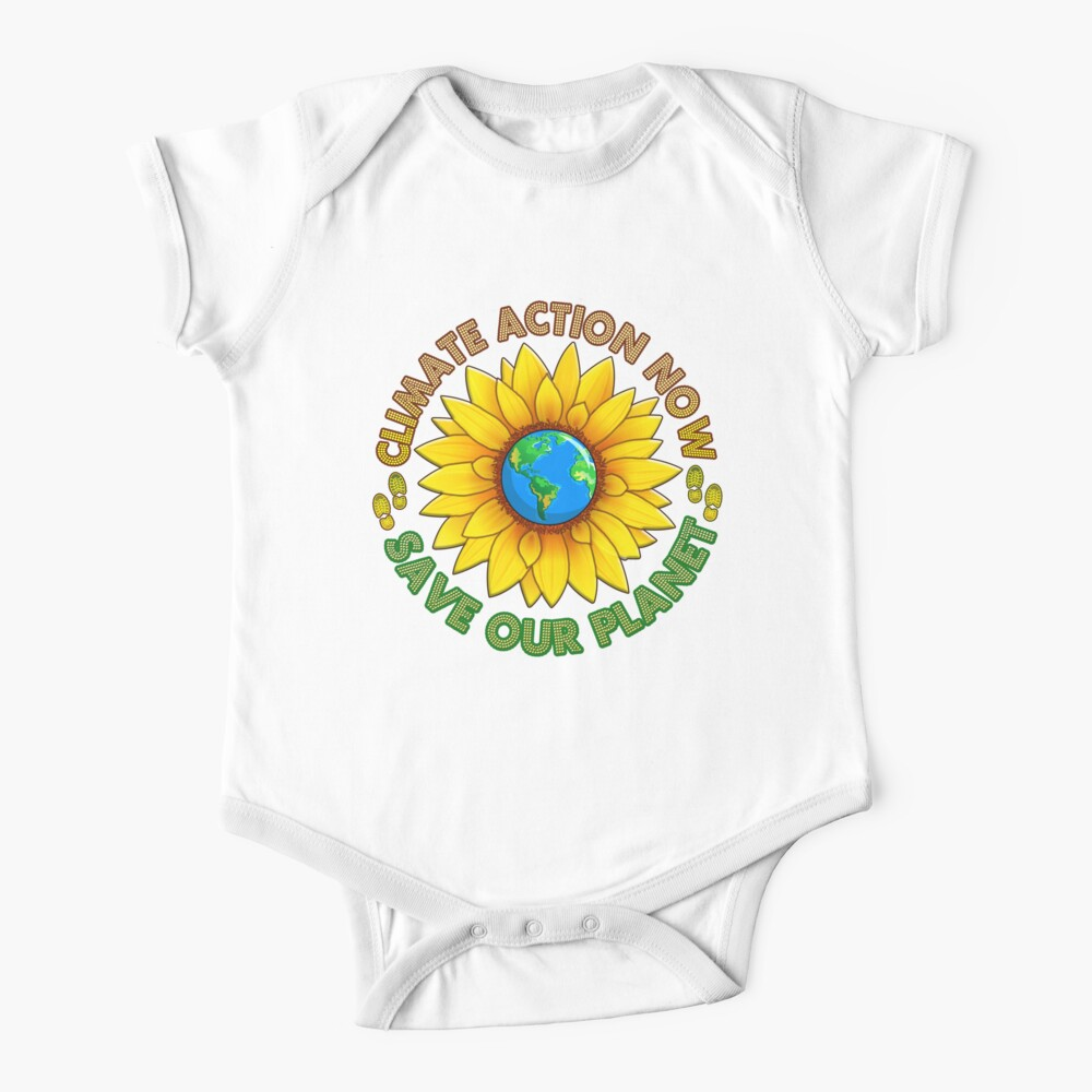 People's Climate Change March on Washington Justice 2017 Baby One-Piece