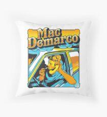 mac demarco Throw Pillow
