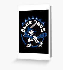Blue Jays Toronto MLB Greeting Card