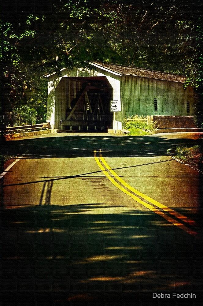 The Green Sergeants Covered Bridge by Debra Fedchin
