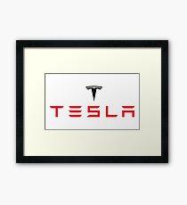 Tesla Automaker Framed Print