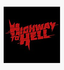Highway To Hell Thunderstruck Photographic Print