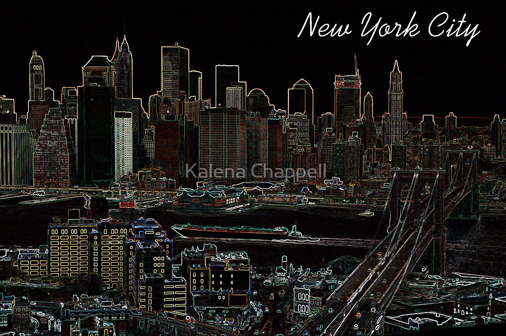 New York City by Kalena Chappell