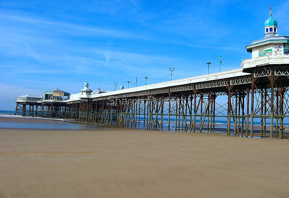 Blackpool Pier by Sharon Perrett