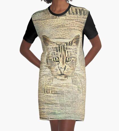Librarian Graphic T-Shirt Dress