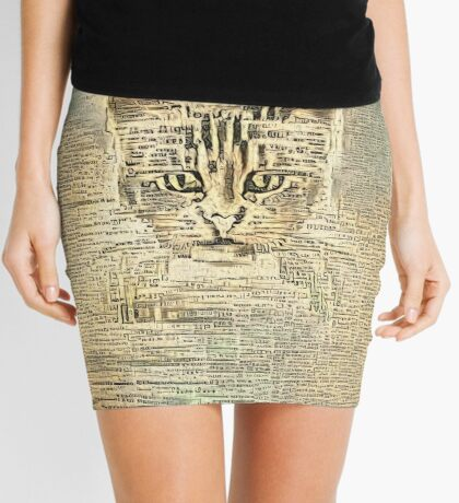Librarian Mini Skirt