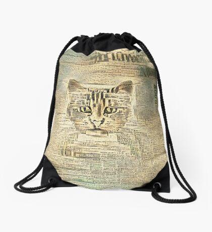 Librarian Drawstring Bag