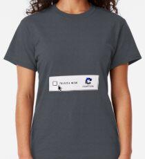 I am not a robot - Captcha Classic T-Shirt
