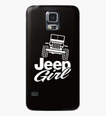 Jeep Girl Case/Skin for Samsung Galaxy