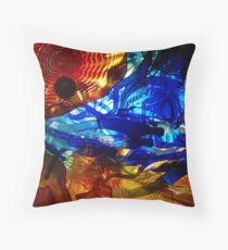 Wall of Glass Throw Pillow