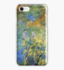 Claude Monet - Irises 3 1917 iPhone Case/Skin