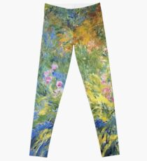 Claude Monet - Irises 3 1917 Leggings