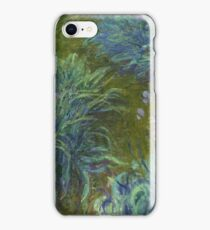 Claude Monet - Irises iPhone Case/Skin