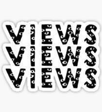 views Sticker