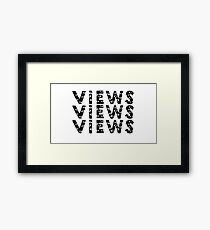 views Framed Print