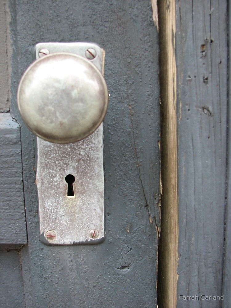 Study of a door knob by Farrah Garland