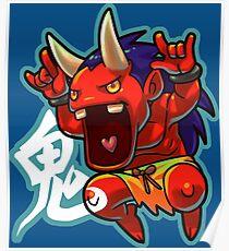 Chibi Oni Poster