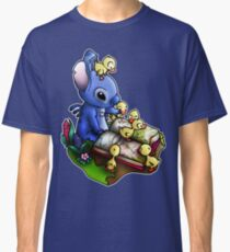 Stitch with Ducklings Classic T-Shirt