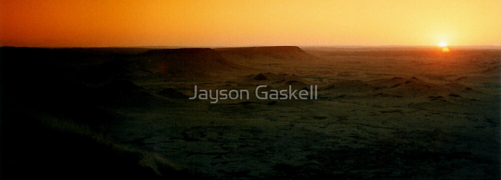 Tabletop Mountain 1 by Jayson Gaskell