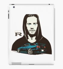 Paul Walker GTR iPad Case/Skin