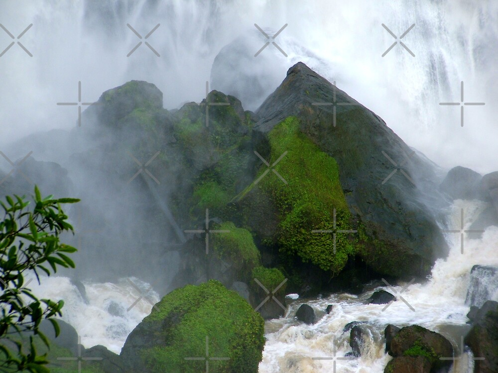 Under The Falls by Varinia   - Globalphotos