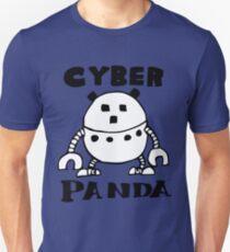 Cyber Danger Panda  Unisex T-Shirt