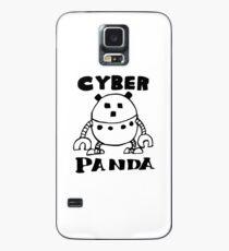 Cyber Danger Panda  Case/Skin for Samsung Galaxy