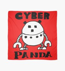 Cyber Danger Panda  Scarf