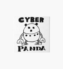 Cyber Danger Panda  Art Board
