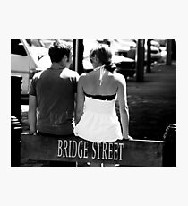 """""""We've come to the bridge we were going to cross when we came to it"""" Photographic Print"""