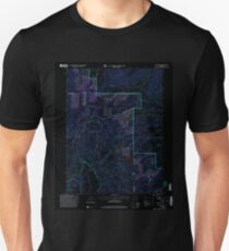 USGS TOPO Map Colorado CO Sand Point 234363 2000 24000 Inverted T-Shirt