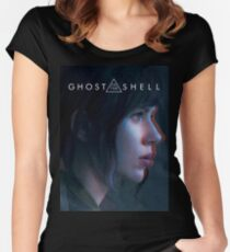 Camiseta entallada de cuello redondo Ghost in the Shell