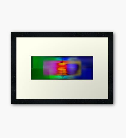 Passion With Passion Framed Print