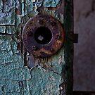 Rusty Lock by Debra Fedchin