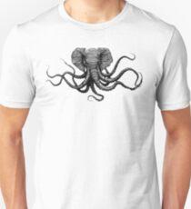 Elephant-Octopus Mural Unisex T-Shirt