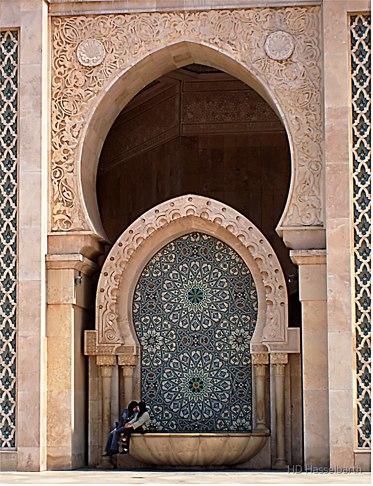 Secrets-Hassan II Mosque by HD Hasselbarth